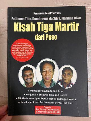 Buku Kisah Tiga Martir dari Poso