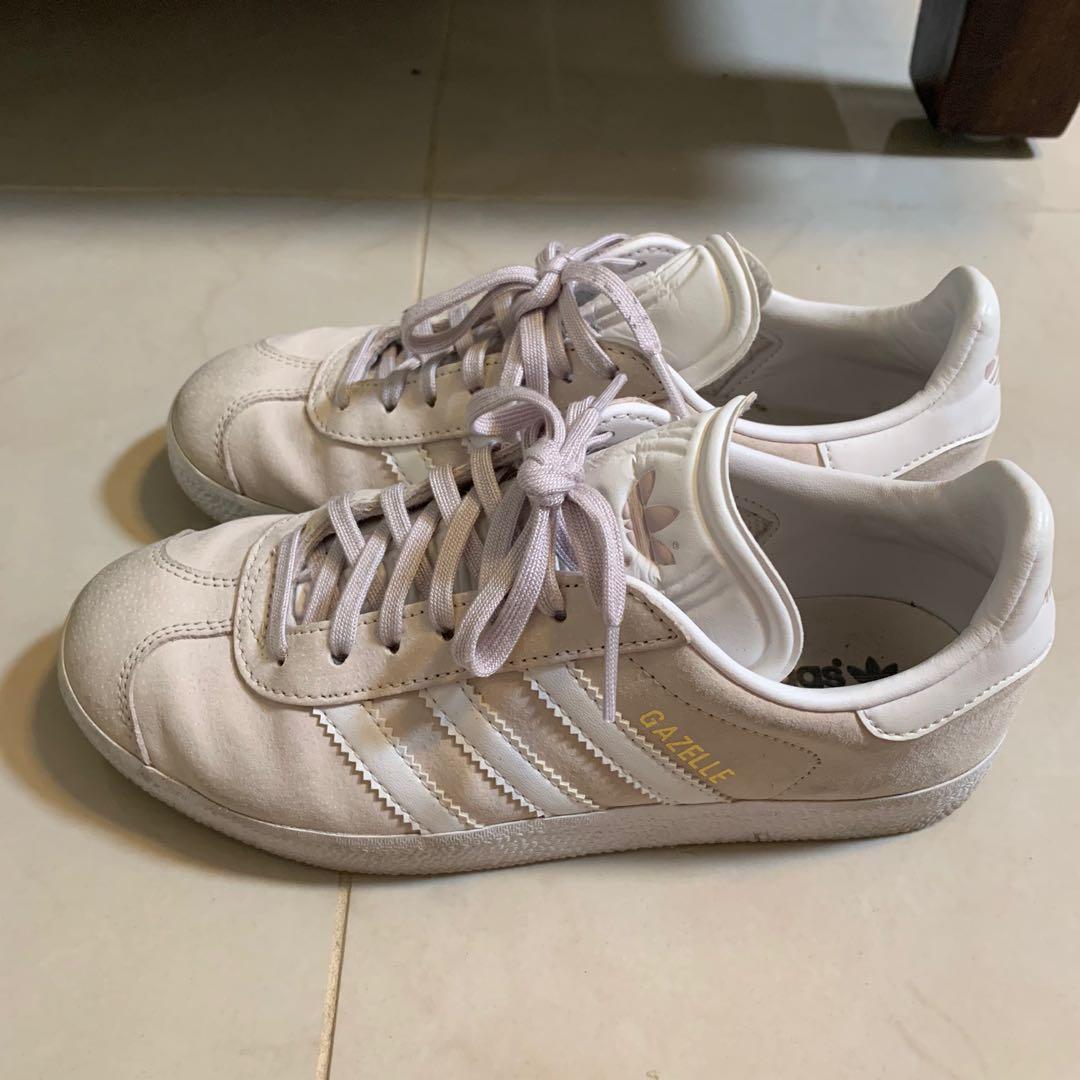 Adidas Originals Gazelles - Baby Pink size AU 5.5 RARE