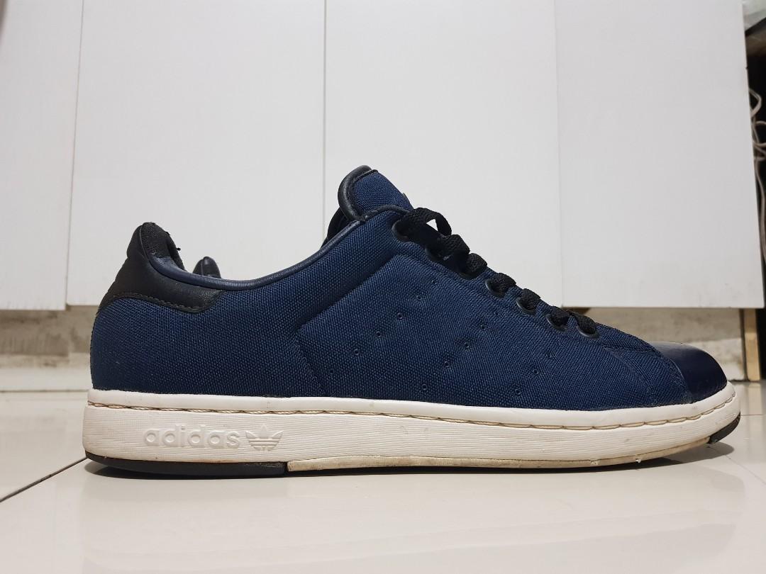 Adidas Stan Smith Suede Blue, Men's