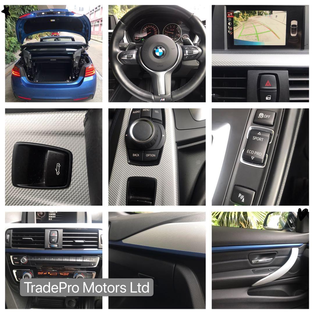 BMW 420i 420iA Cabrio M Sport Auto