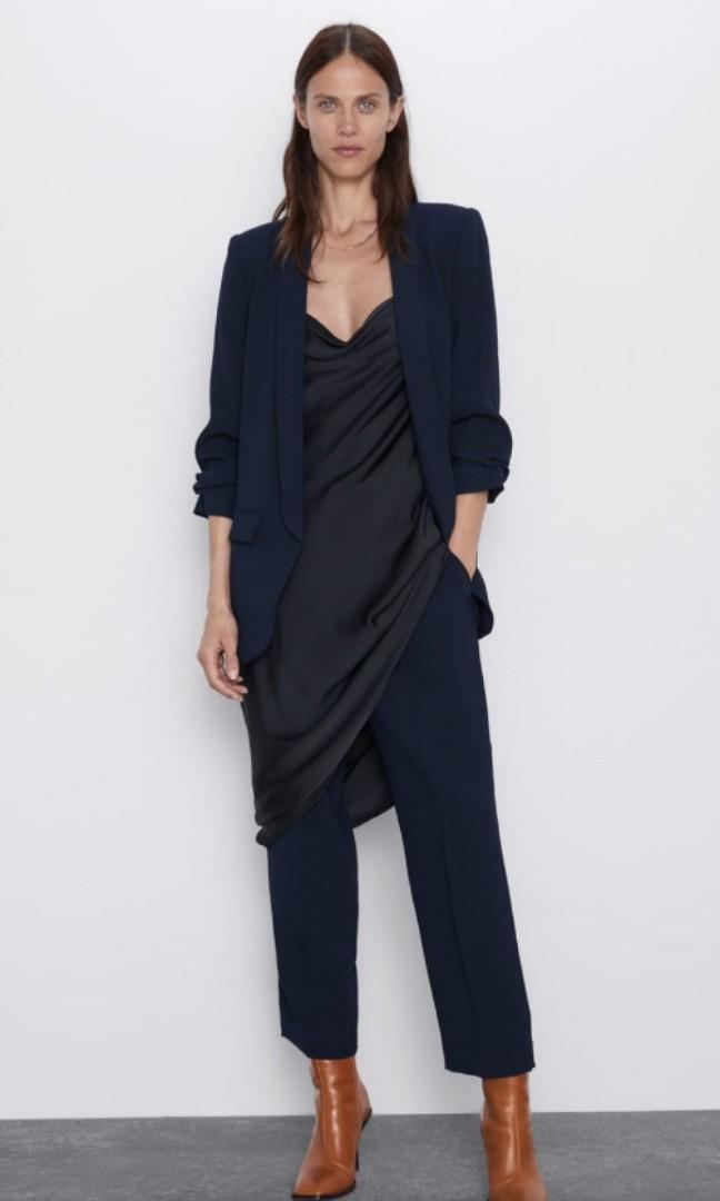 BRAND NEW: Zara Navy Blazer: 56% Discount, was $159, now only $69.