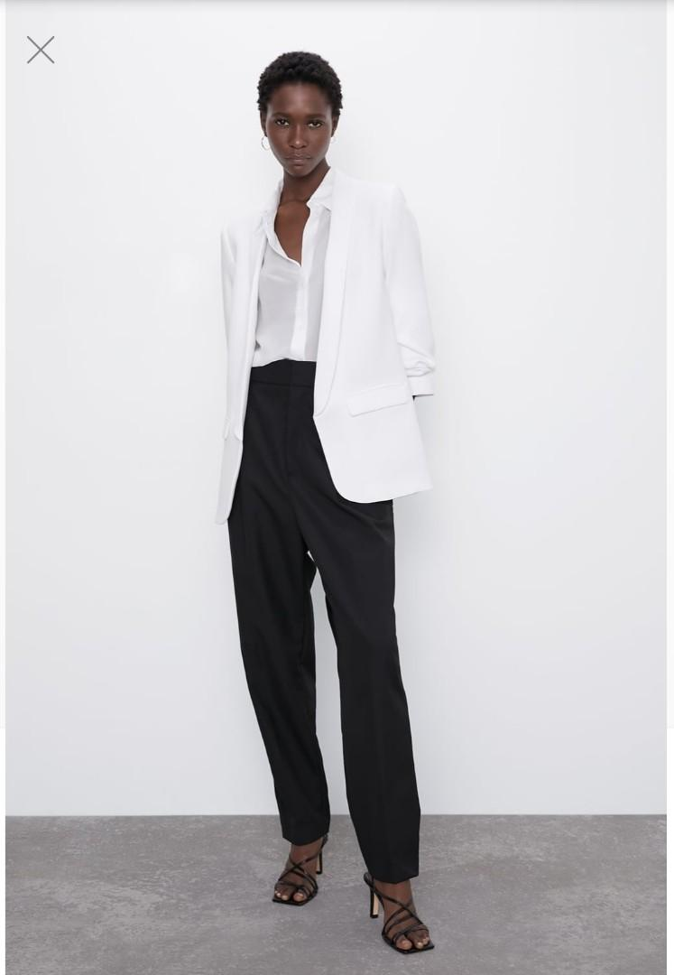 BRAND NEW: Zara White Blazer. 56% Discount! Was $159, Now $69.