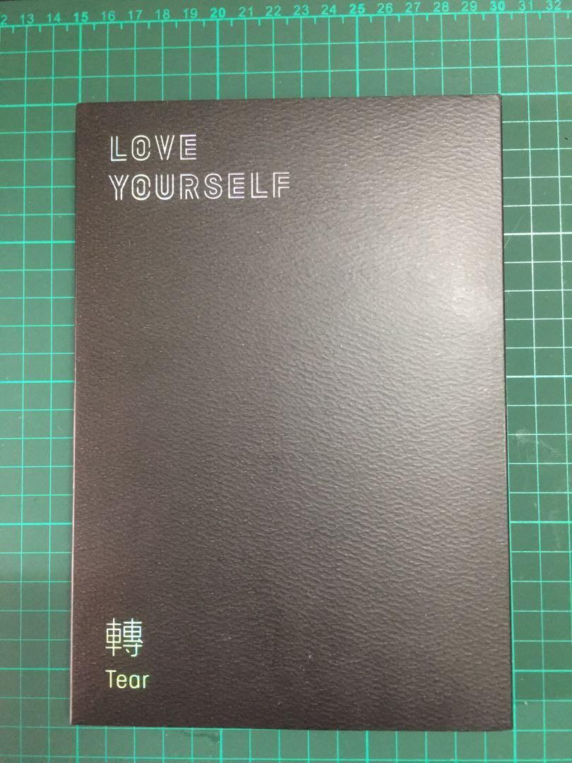 BTS Love Yourself : Tear ( O Version ) ( Free Gifts )