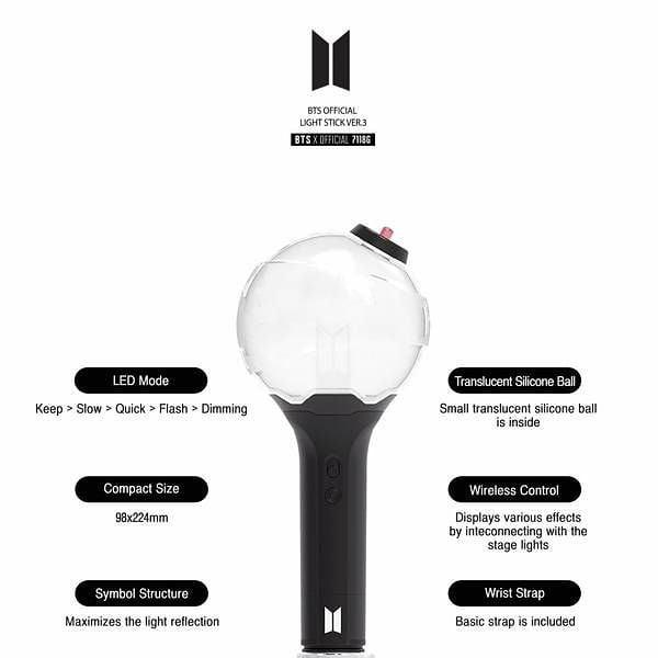 BTS OFFICIAL LIGHTSTICK (LOOKING FOR BUYER THAT WANT TO BUY BULK)