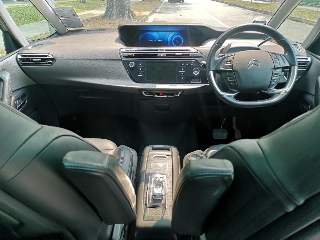 Citroen Grand picasso 7 seater MPV Diesel turbo for rent