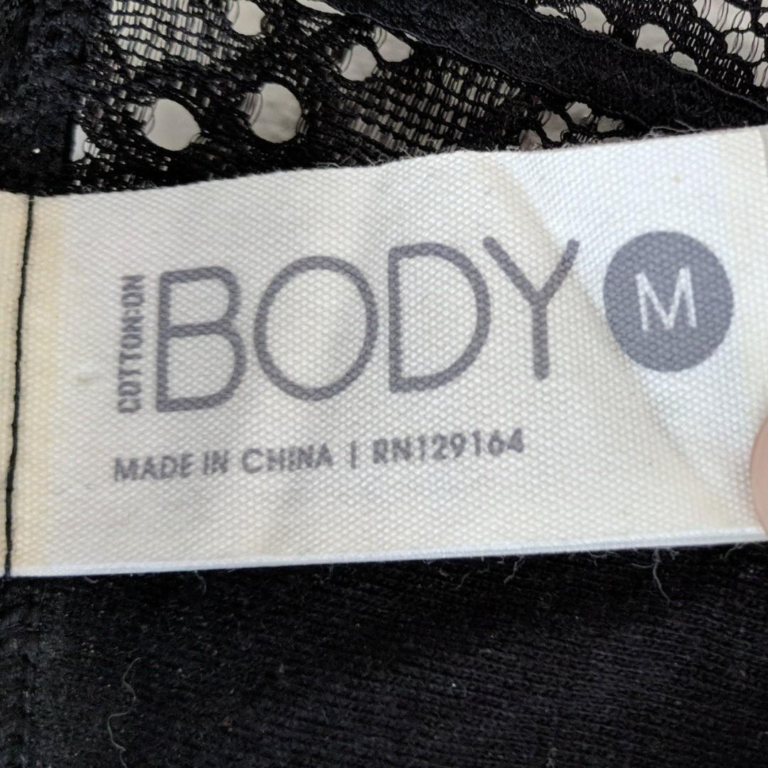 Brand New - Cotton On Body Size Medium Black Lace Bralette
