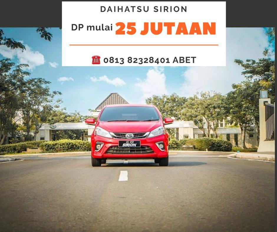 DP MURAH Daihatsu Sirion mulai 25 jutaan. Daihatsu Fatmawati