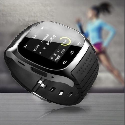 Free Shipping Waterproof Smartwatch Bluetooth Smart Watch With LED Alitmeter Music Player