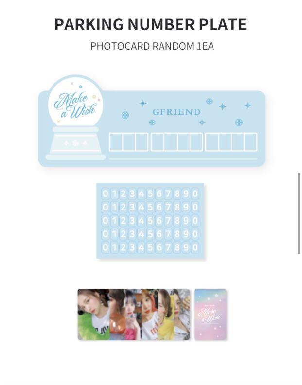 GFRIEND 3rd fan meeting MD (Dear. Buddy: Make A Wish)
