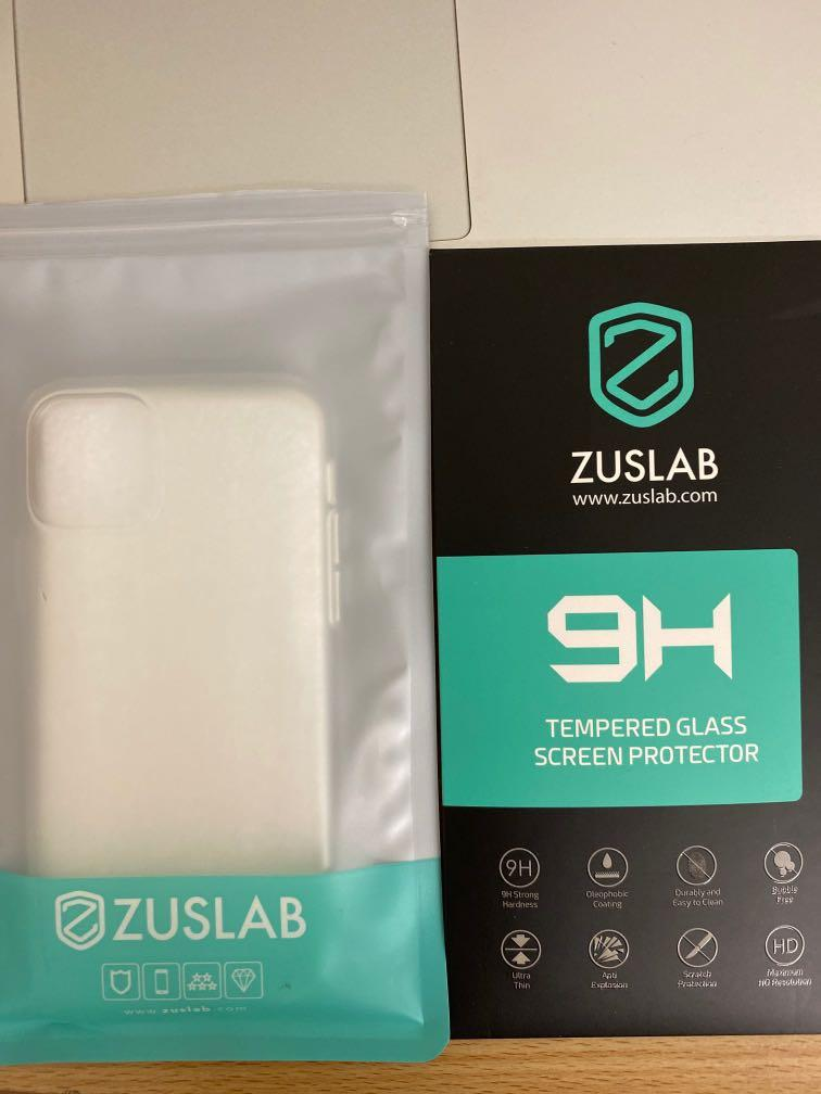 iphone 11 pro, phone case and glass screen protector