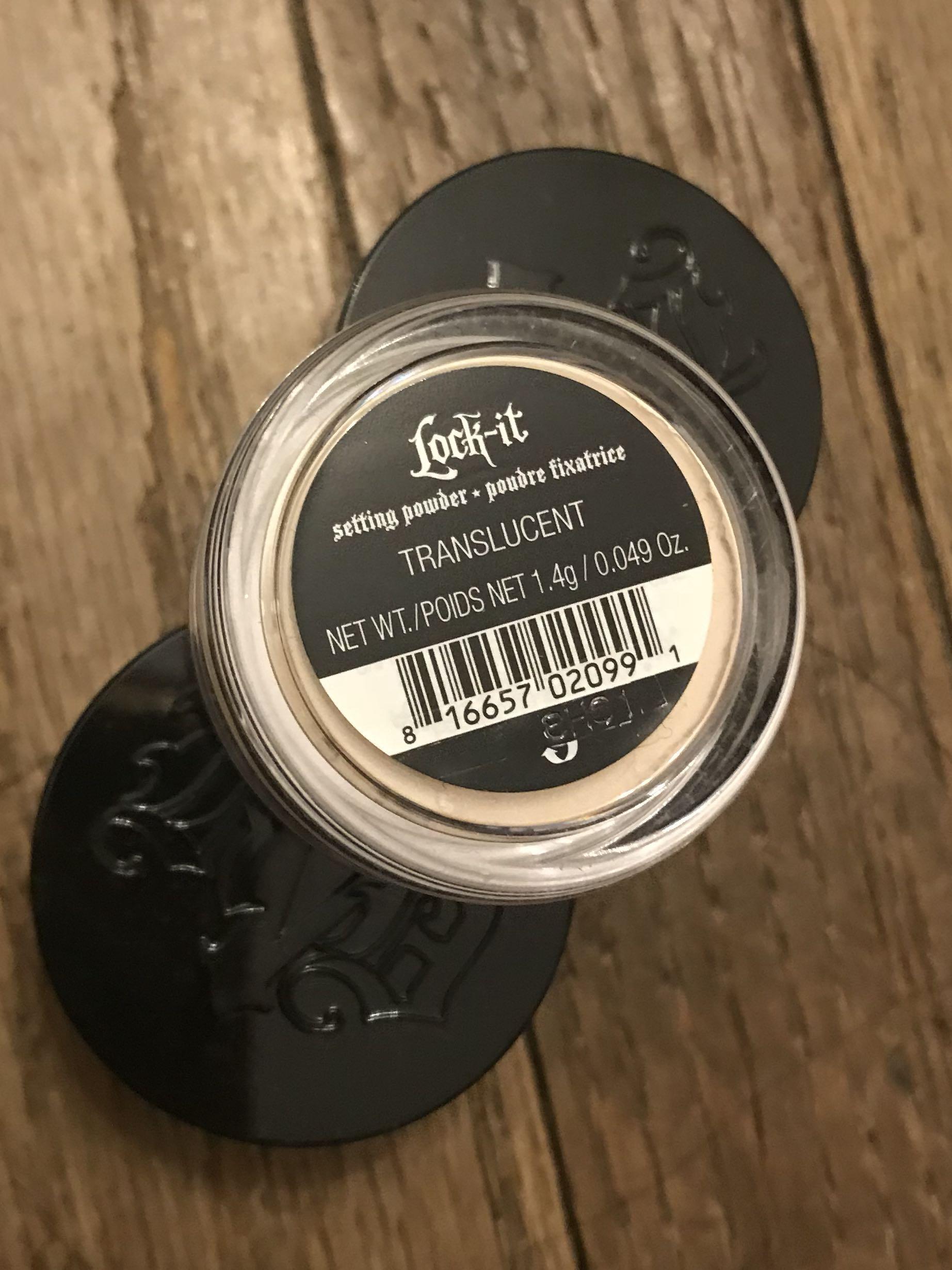 Brand new Kat von d translucent setting powder lock it $10 for all 3