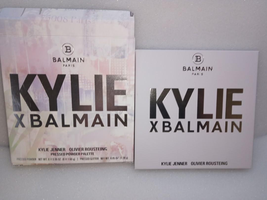 Kylie cosmetics x balmain - balmain eyeshadow palette