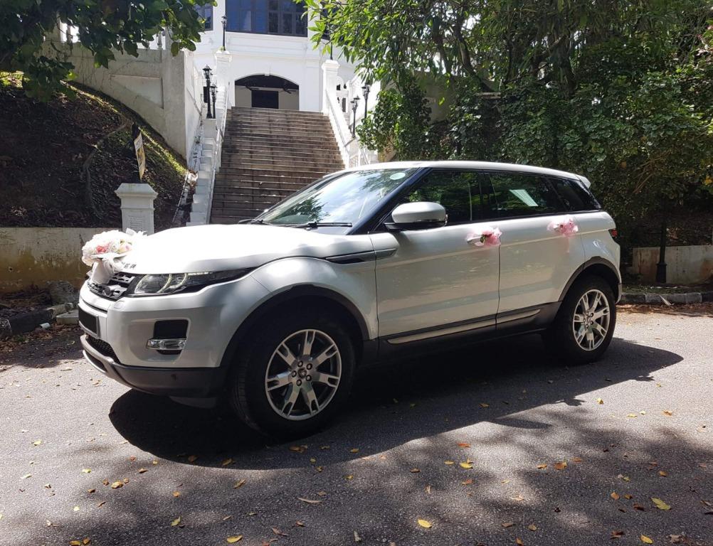 Range Rover Evoque - White - Perfect as wedding car