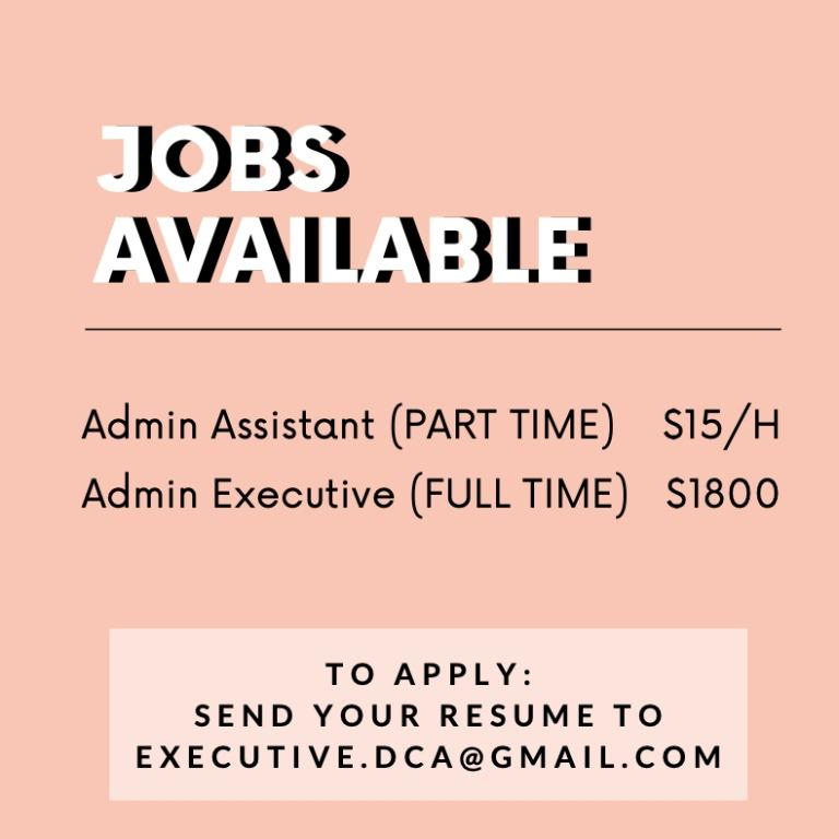 Looking for Admin Executives