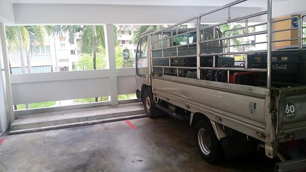 Lorry wth Driver, Transport from IKEA Tampines $40, Exclude West/North/Sentosa