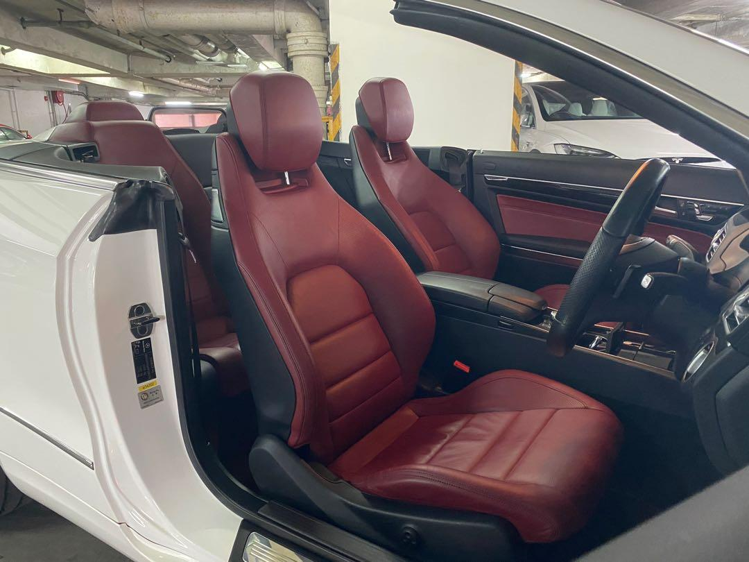 Mercedes-Benz E200 Cabriolet CGI BlueEfficiency (A)