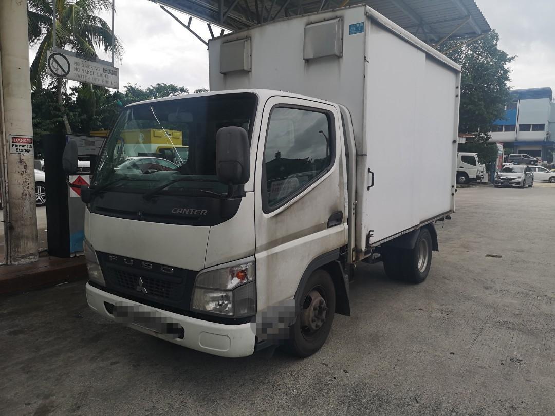 10'ft Box Lorry