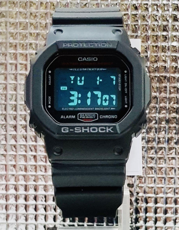 NEW🌟DEADPOOL theme: GSHOCK DIVER UNISEX SPORTS WATCH : 100% ORIGINAL AUTHENTIC CASIO G-SHOCK : DW-5600HR-1DR / DW5600HR-1 / DW-5600-HR-1DR (BLACK+RED)