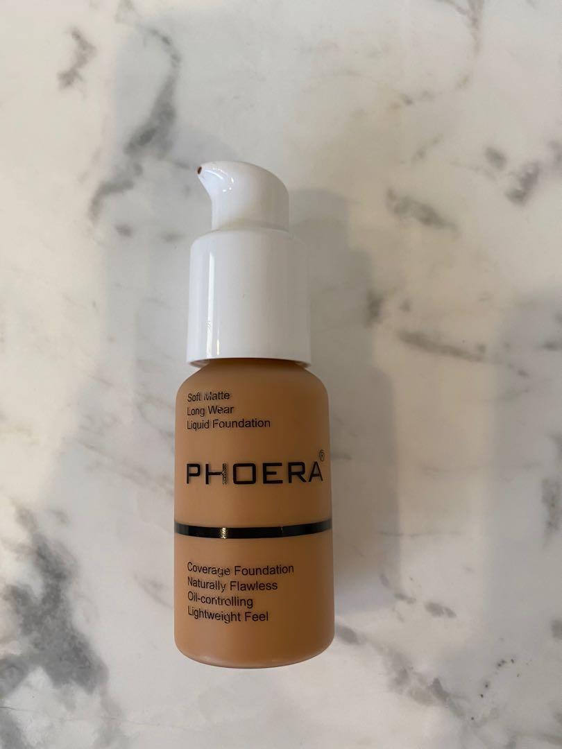 Phoera Foundation   #106 Warm Sun Soft Matte Finish