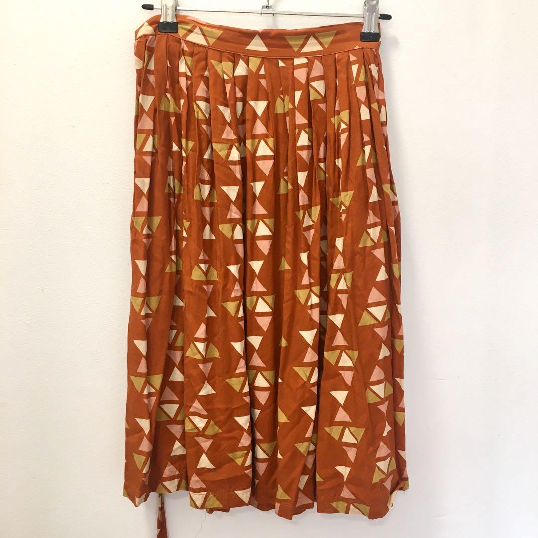 Princess Highway Dangerfield Geometric Skirt - Size 8