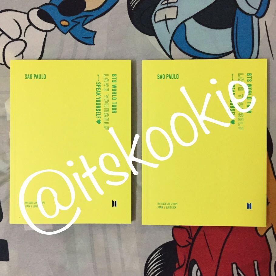 [READYSTOCK] BTS in Sao Paulo concert DVD (PHOTOBOOK ONLY)