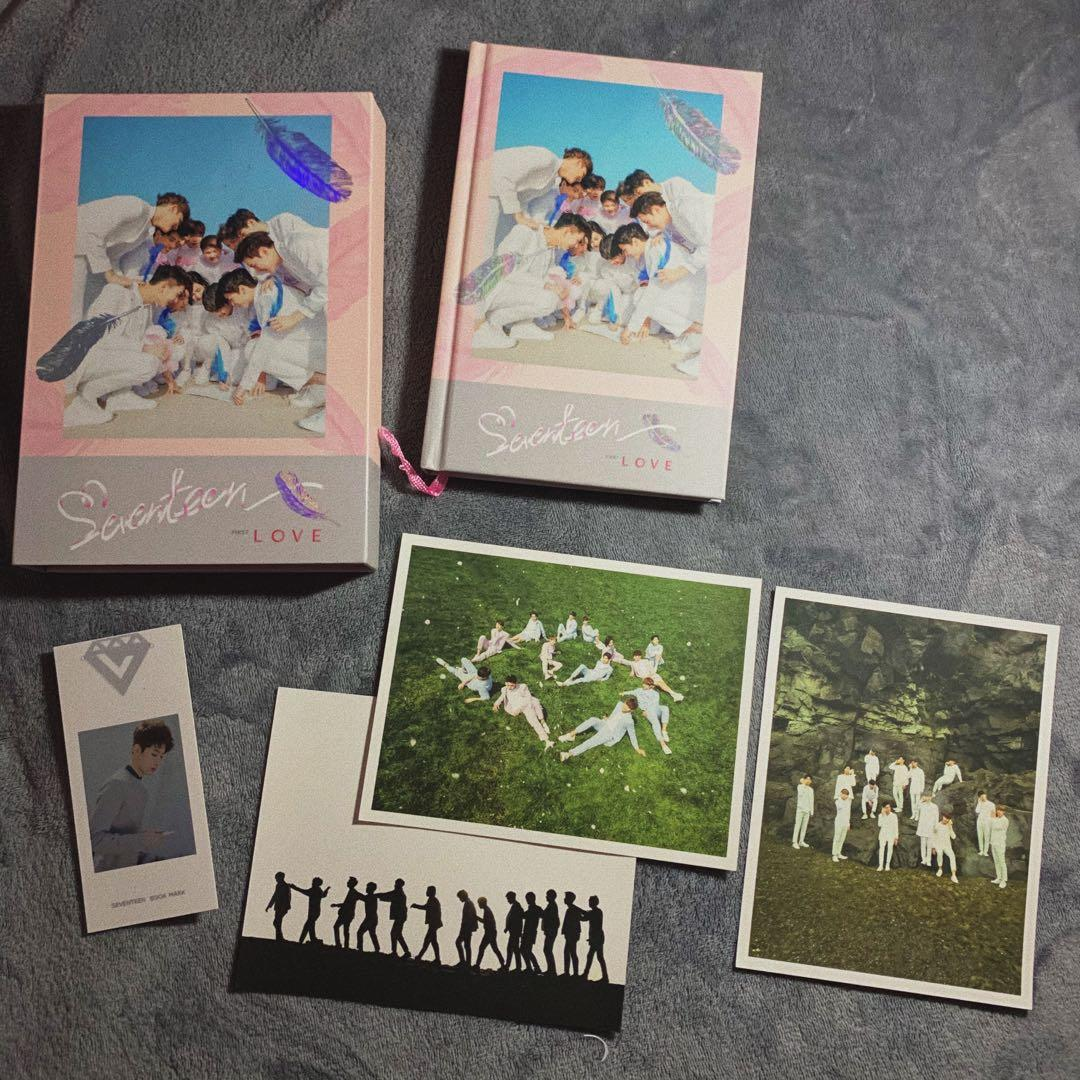 [WTS] SEVENTEEN Love and Letter 1st Album, Love ver.