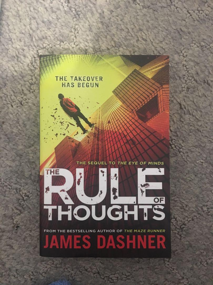 The Eye of Minds & The Rule of Thoughts books James Dashner