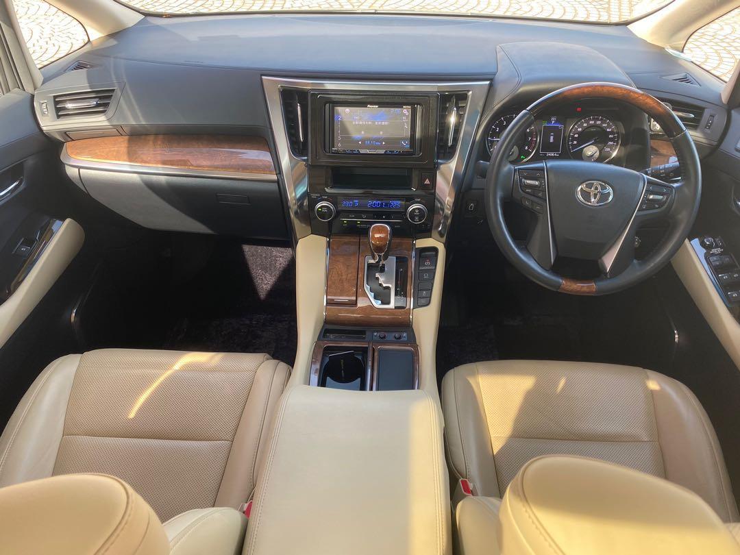 Toyota Alphard 3.5 Executive Lounge (A)