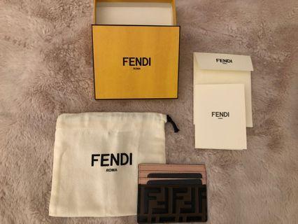 Authentic Fendi Card Holder