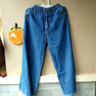 #awal2020 Kulot Jeans Denim