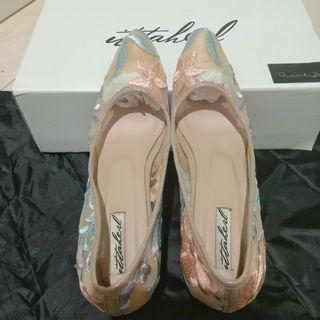 Ittaherl heels (like new)