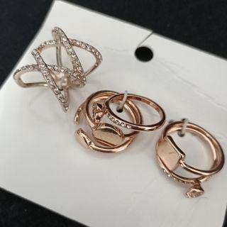(買5送1)歐美品牌超值6件套指環戒指