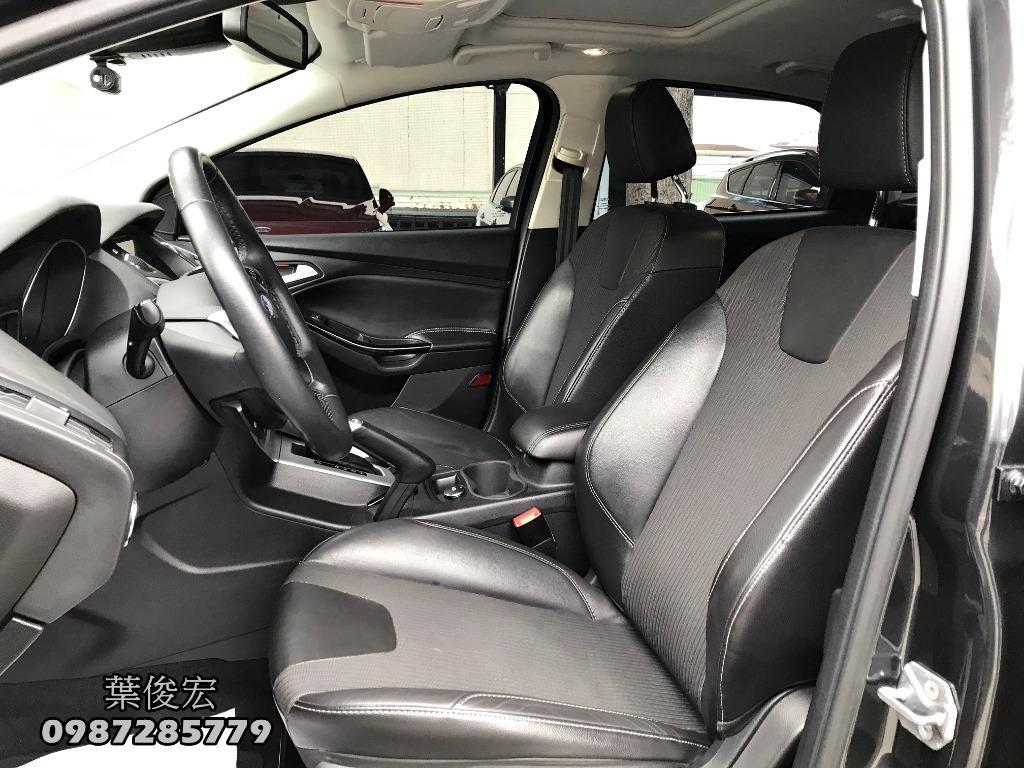 福特原廠認證中古車2015年Ford Focus TDCI 2.0柴油五門頂級 原廠認證