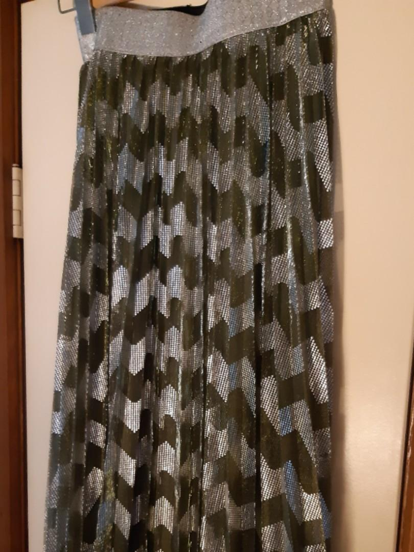 """Alexandra"" pleated skirt. Brand new, never worn with tags. RRP$239"