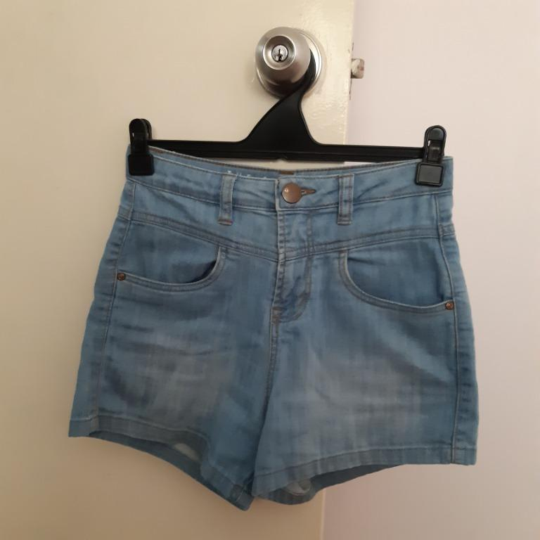Blue Jean Shorts // Cotton On The Classic High Rise