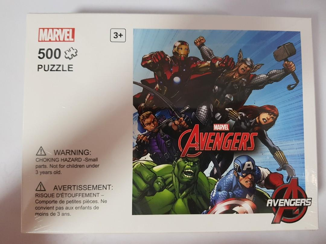 Agradecido tetraedro Independencia  BN Miniso Avengers Puzzle, Toys & Games, Others on Carousell