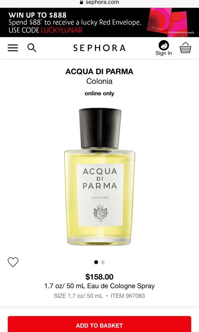 Brand New ACQUA DI PARMA Colonia perfume fragrance 50ml