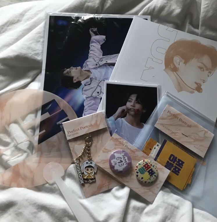 bts jungkook madein1997 fansite photobook set loose items