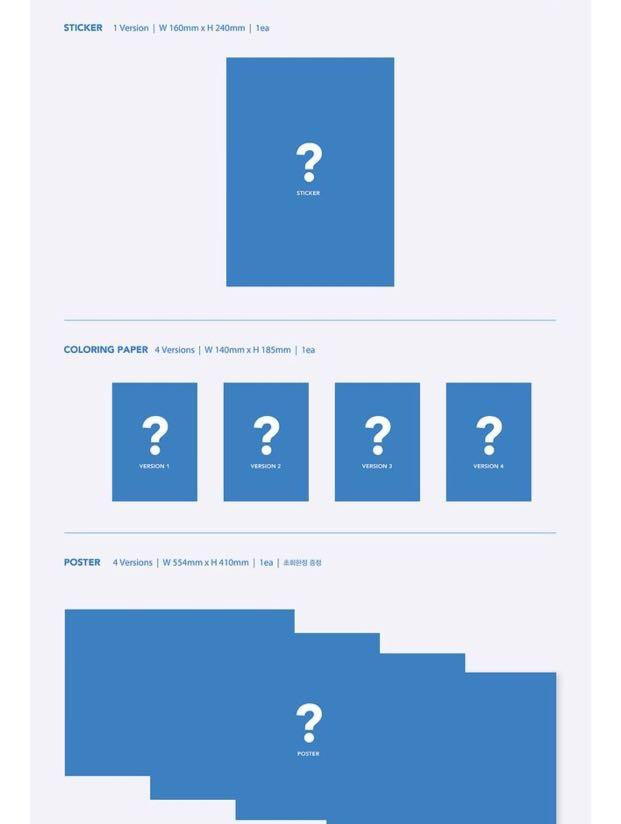( Choose ver) BTS MAP OF THE SOUL : 7 MOTS 7 Preorder