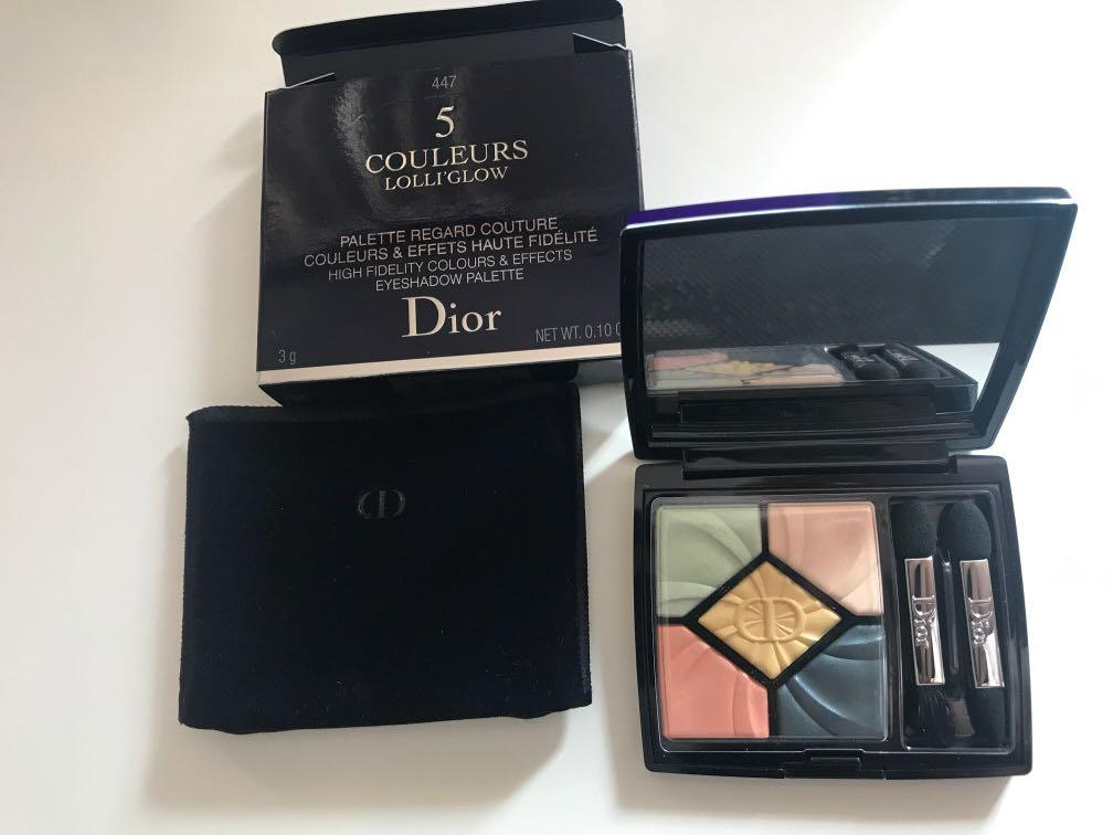 Dior 5 Couleurs Lolli'Glow Limited Edition Eyeshadow palette