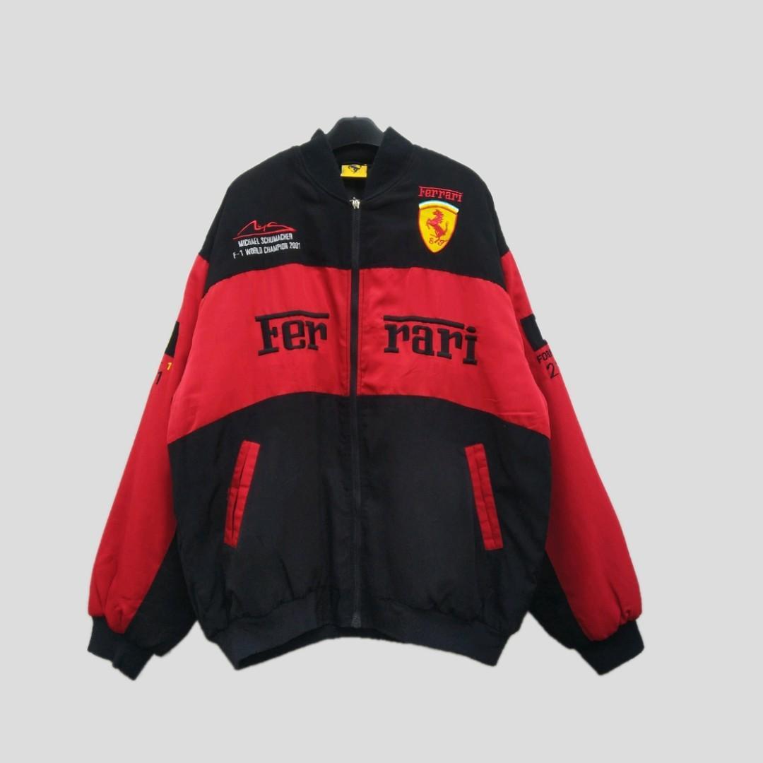 Ferrari Formula F1 Racing Jacket Michael Schumacher 2001 Men S Fashion Clothes Tops On Carousell