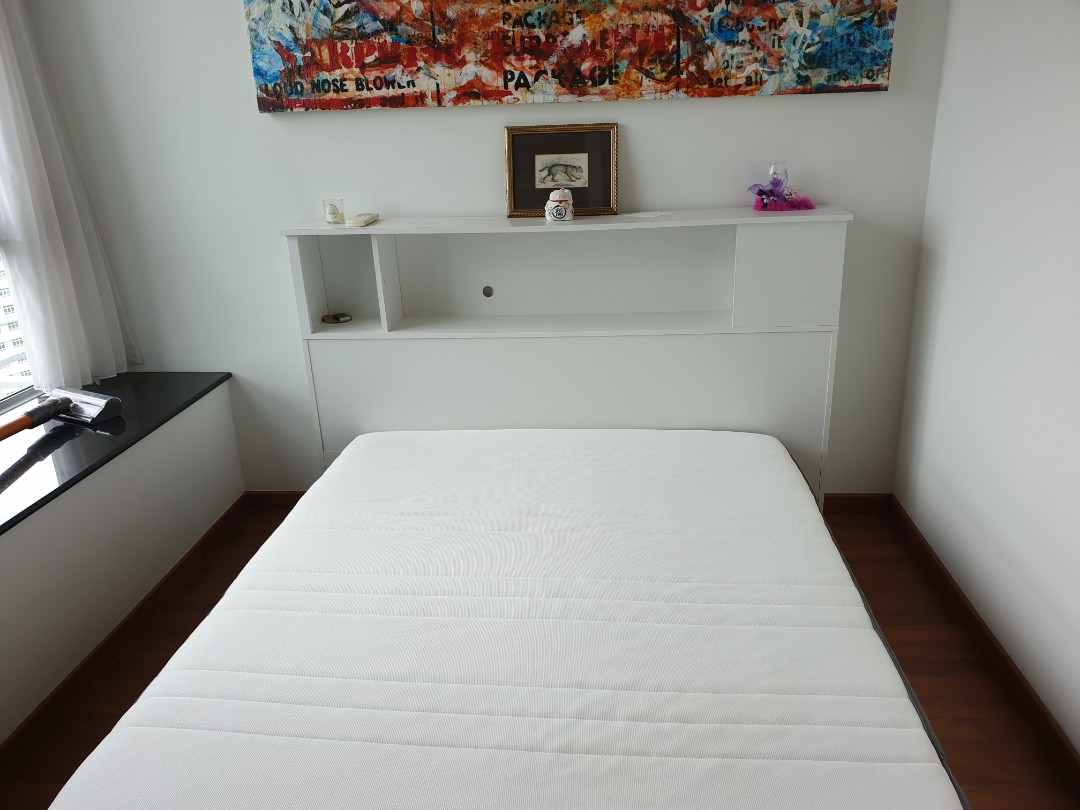 Japanese Style Bed Frame Ikea Queen Mattress Furniture Home Living Frames Mattresses On Carousell