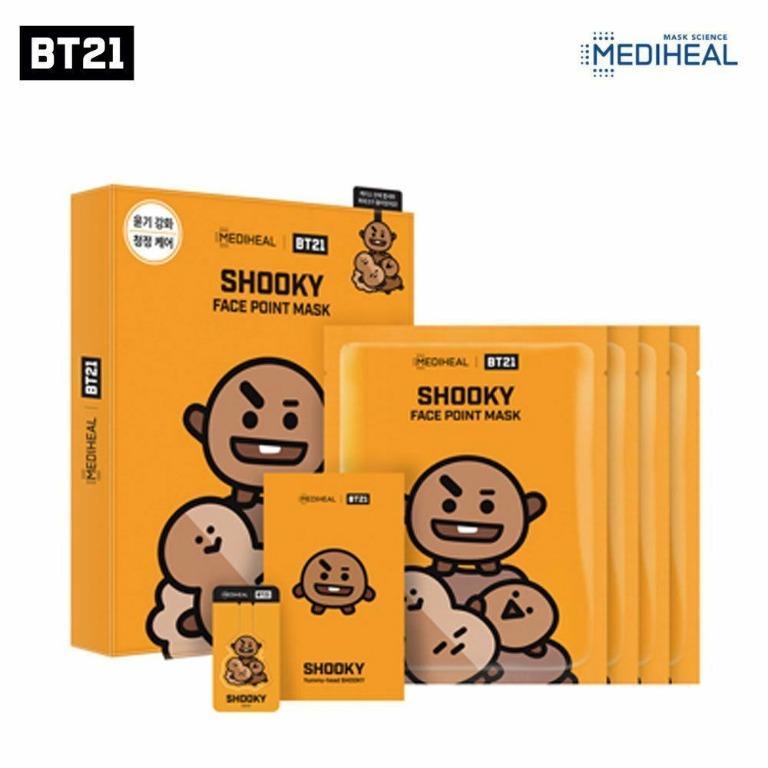 Mediheal Face Point Mask Sheet 4pcs - BTS Official BT21