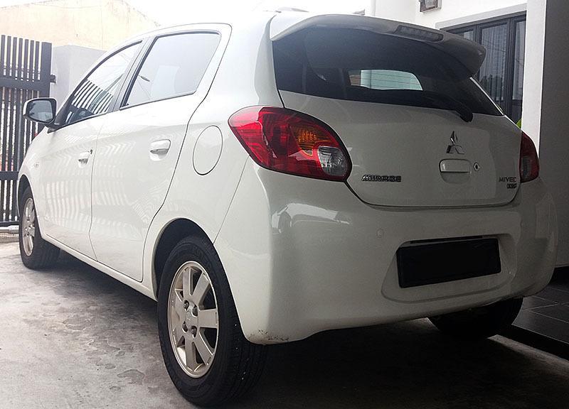 Mitsubishi Mirage GS 2012/2013, auto CVT, keyless, push start