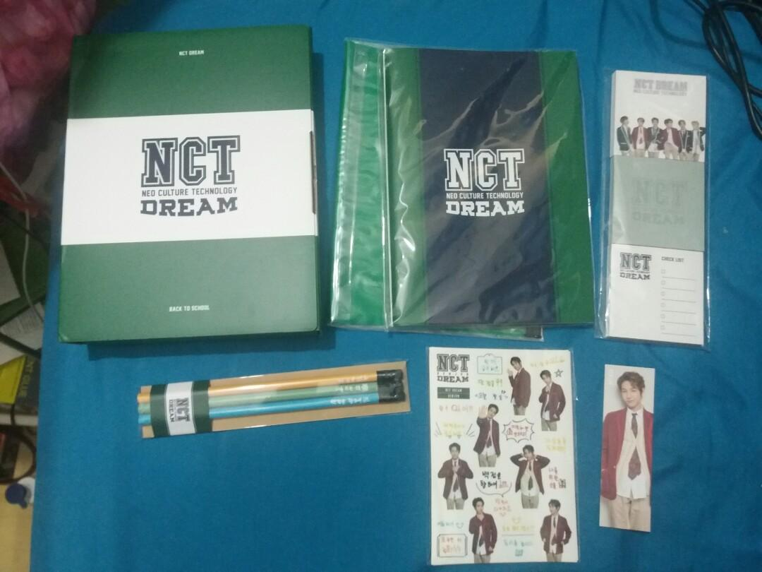 NCT DREAM Back To School Kit Renjun (NOT COMPLETE)