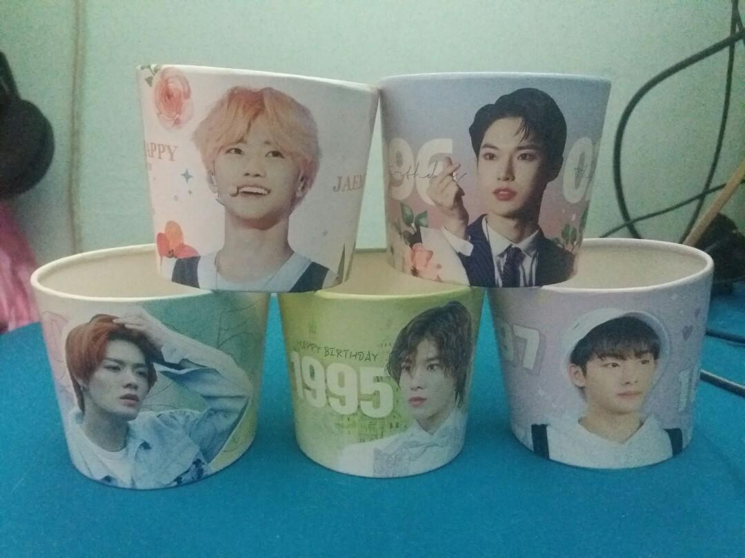NCT Korean Fansite Cupholders Bundle (Jaemin, Doyoung, Winwin, Yuta)