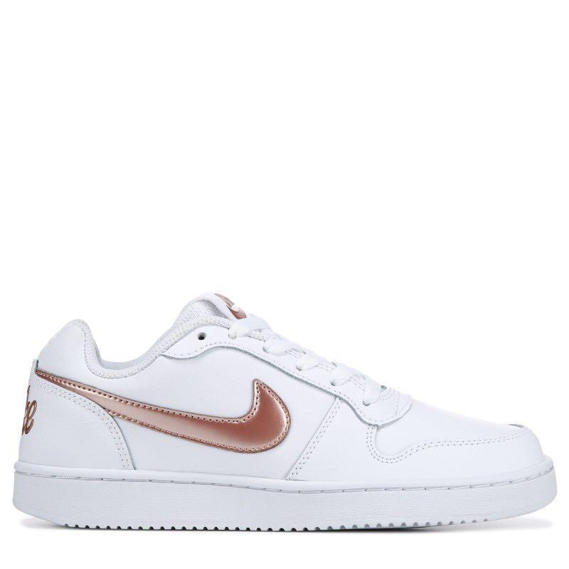 Nike Ebernon Low Rose Gold/White BN