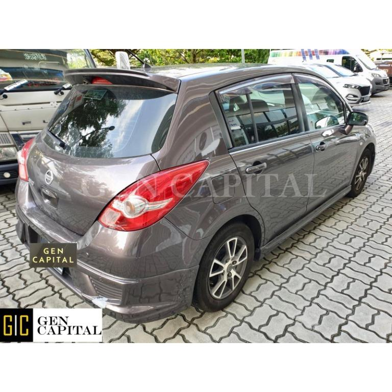 Nissan Latio @ Much lower rental rates compared to Grab Rentals!