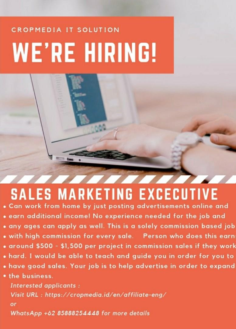 Part Time - Sales Marketing