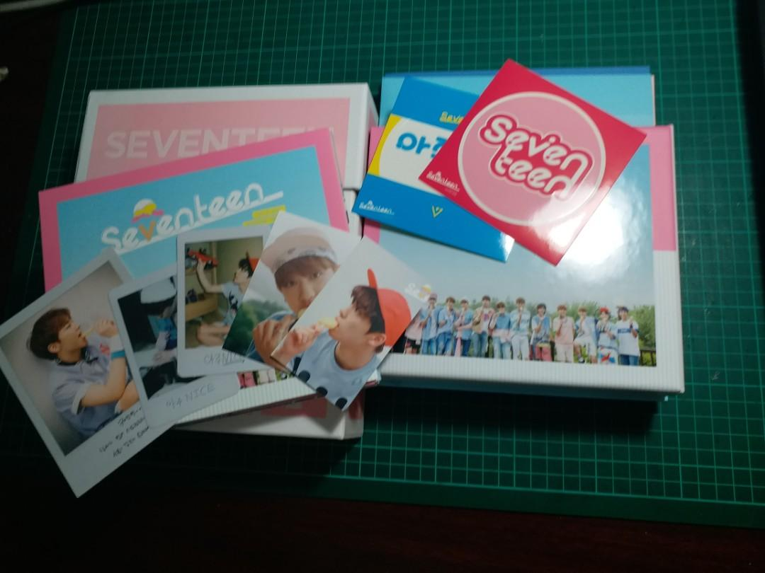 SEVENTEEN - LOVE & LETTER (VERY NICE) Repackage Album SPECIAL EDITION